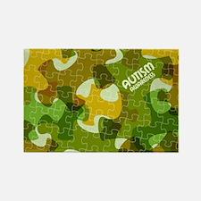 Autism Awareness Puzzles Camo Magnets