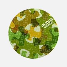 Autism Awareness Puzzles Camo Button