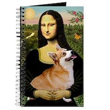 Cute Corgi tile Journal
