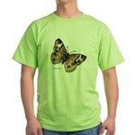 Buckeye Butterfly Green T-Shirt