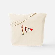 The Man I Love Tote Bag
