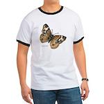 Buckeye Butterfly (Front) Ringer T