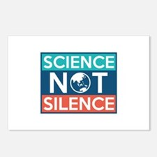 Science Not Silence Postcards (Package of 8)