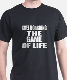 Knee Boarding The Game Of Life T-Shirt