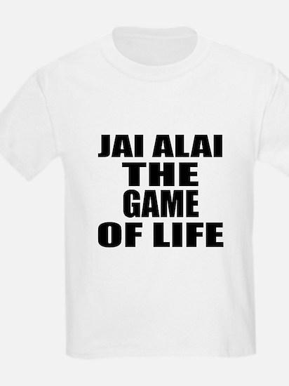 Jai Alai The Game Of Life T-Shirt