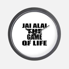 Jai Alai The Game Of Life Wall Clock