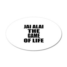 Jai Alai The Game Of Life Wall Decal
