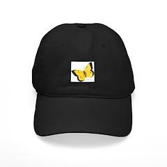 Orange Sulphur Butterfly Baseball Hat
