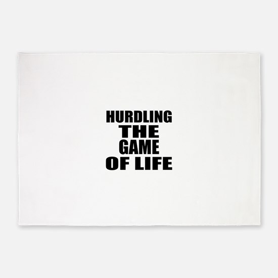 HurdlingThe Game Of Life 5'x7'Area Rug