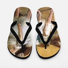 Vintage Ballet by Edgar Degas Flip Flops