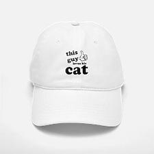 This guy loves cats Baseball Baseball Cap