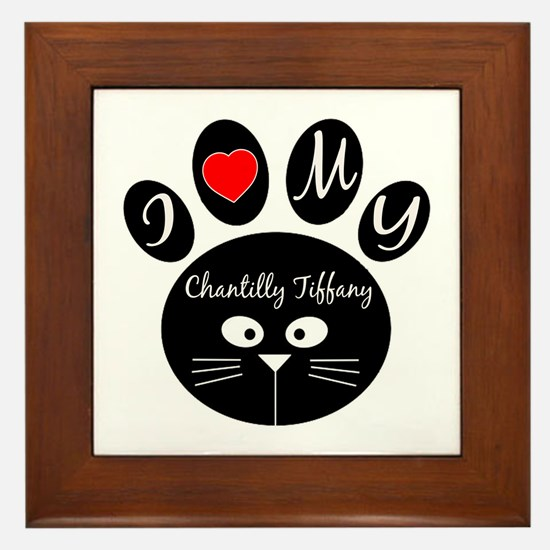 I love my Chantilly Tiffany Framed Tile