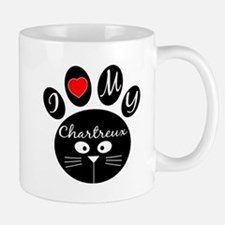 I love my Chartreux Small Small Mug