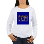 Joy Golden Blue Women's Long Sleeve T-Shirt