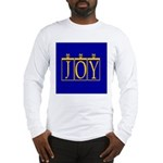 Joy Golden Blue Long Sleeve T-Shirt