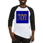 Joy Golden Blue Baseball Jersey