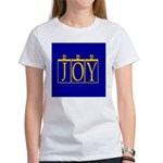 Joy Golden Blue Women's T-Shirt