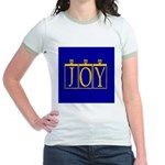 Joy Golden Blue Jr. Ringer T-Shirt