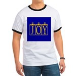 Joy Golden Blue Ringer T