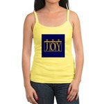 Joy Golden Blue Jr. Spaghetti Tank