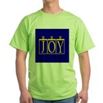 Joy Golden Blue Green T-Shirt