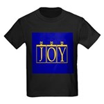 Joy Golden Blue Kids Dark T-Shirt