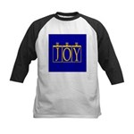 Joy Golden Blue Kids Baseball Jersey