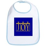 Joy Golden Blue Bib