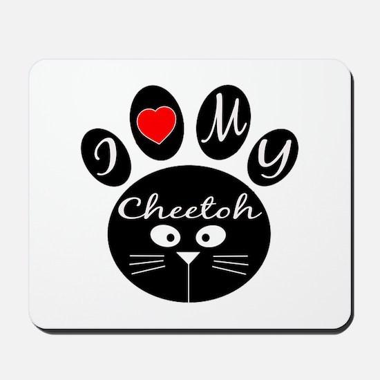 I love my Cheetoh Mousepad