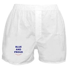 Blue and Proud Boxer Shorts