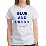 Blue and Proud Women's T-Shirt