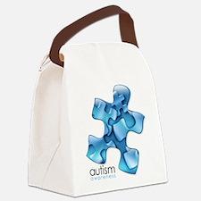 puzzle-v2-blue.png Canvas Lunch Bag