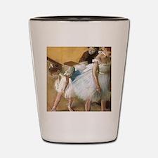 Vintage Ballet by Edgar Degas Shot Glass