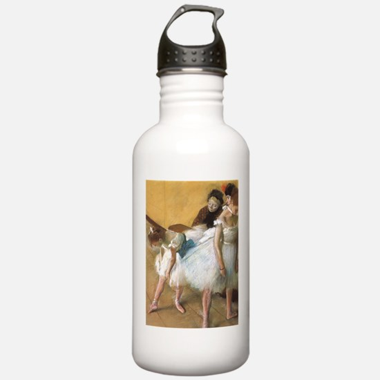 Vintage Ballet by Edga Water Bottle
