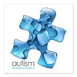Autism Square Car Magnets