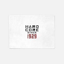 Hard Core Since 1929 5'x7'Area Rug