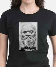 Arrest of Socrates (Mug Shot) Ash Grey T-Shirt