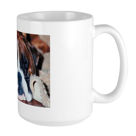 The Cat Did It Large Mug