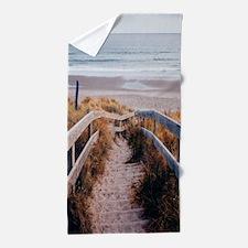 Walk To The Beach Beach Towel