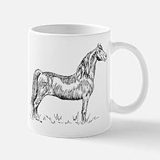 Morgan Horse in Pen & Ink Mug