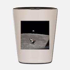 Cute Lunar landing Shot Glass