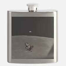 Unique Lunar landing Flask