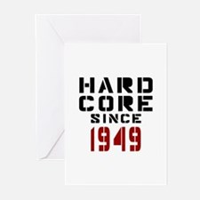 Hard Core Since 1949 Greeting Cards (Pk of 20)