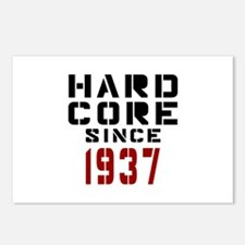 Hard Core Since 1937 Postcards (Package of 8)