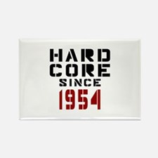Hard Core Since 1954 Rectangle Magnet
