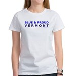 Blue and Proud: Vermont Items Women's T-Shirt