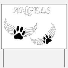 Cute Angel Yard Sign