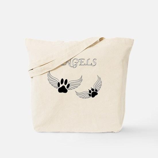 Cute Dog paw Tote Bag