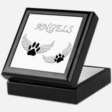 Angel Pet Paws Keepsake Box