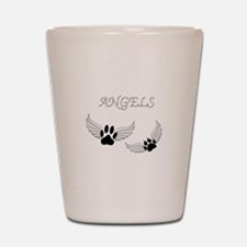 Angel Pet Paws Shot Glass